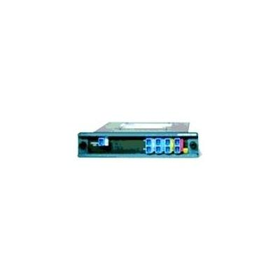 Cisco wave division multiplexer: Single Fiber 4-Channel Mux/Demux