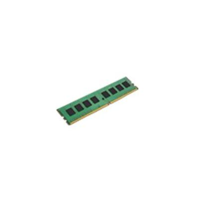 Kingston technology RAM-geheugen: ValueRAM 4GB DDR4 2133 MHz DIMM - Zwart, Groen
