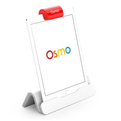 Osmo New Base for iPad, Red Reflector, 2 game apps: Masterpiece and Newton - Rood, Wit