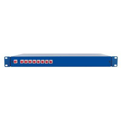 Spaun SOV 19 1/8 FC/PC Fiber optic adapter - Blauw