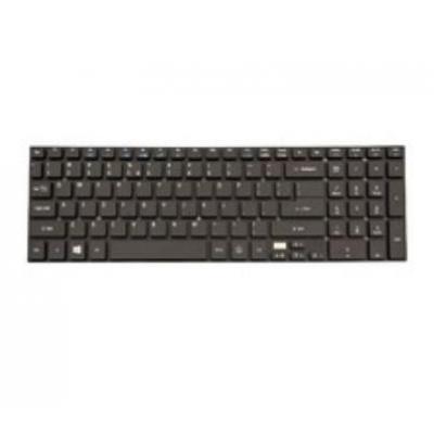 Acer Keyboard (US/International), Black notebook reserve-onderdeel - Zwart