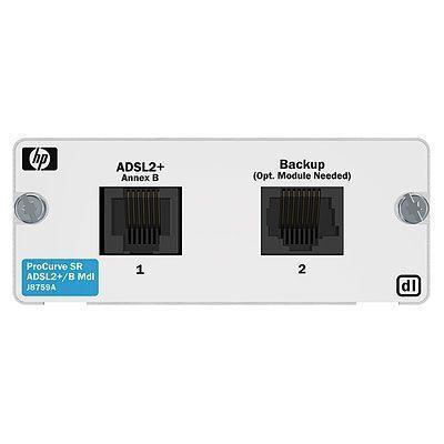 Hewlett packard enterprise netwerkbeheer apparaat: 1-port ADSL2+ Annex B