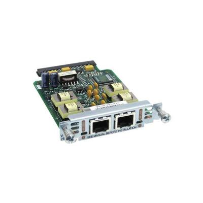 Cisco voice network module: 2-port E&M voice/fax interface card (Open Box)