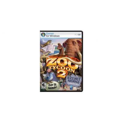 Microsoft game: Zoo Tycoon 2: Extinct Animals