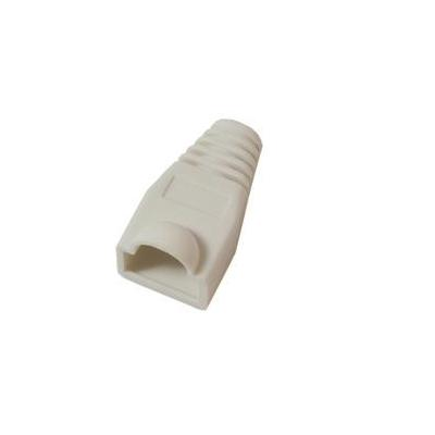 Microconnect Boots RJ-45 Plugs White Tang - Wit