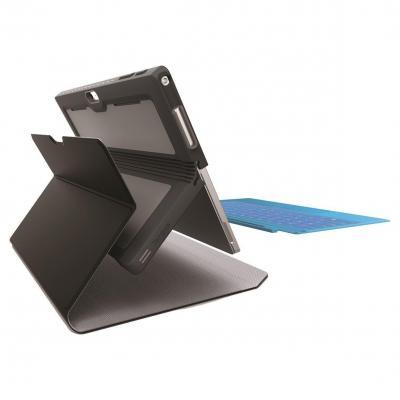 "Targus tablet case: Foliowrap Microsoft Surface Pro 4 (12.3"") Tablet Case - zwart"