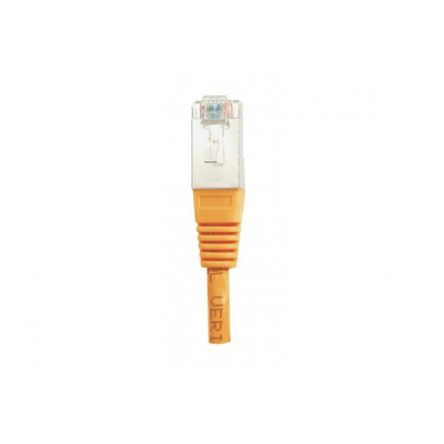 Connect Cat5e RJ45 Patch cable F/UTP orange, 0.3 m Netwerkkabel