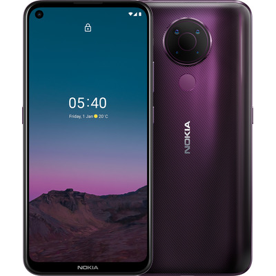 Nokia 5.4 Smartphone - Paars 64GB