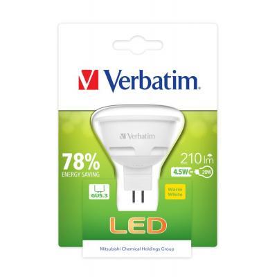 Verbatim led lamp: LED, 4.5W