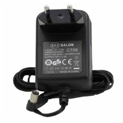 Gigaset netvoeding: Accessoires: N720 power supply - Zwart