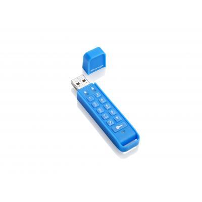 Istorage USB flash drive: datAshur Personal 16GB - Blauw
