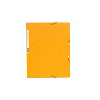 Exacompta ElastoNature Future zonder kleppen A4, 400 g/m², geel (verpakking 25 stuks) Map