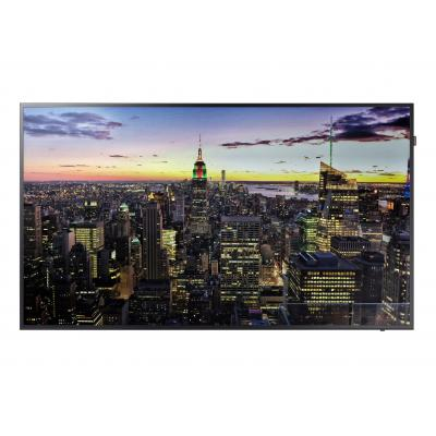 Samsung public display: 4K UHD Standalone Display QBH 75 inch - Zwart