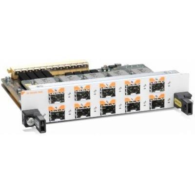 Cisco switchcompnent: 10-Port Gigabit Ethernet Shared Port Adapter - Zwart, Grijs, Oranje