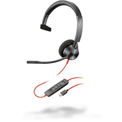 POLY Blackwire 3310 Headset - Zwart