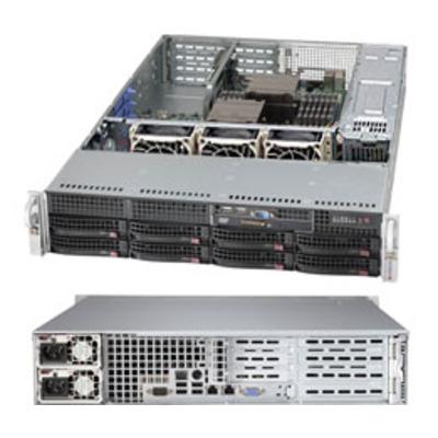 Supermicro CSE-825TQ-R740WB computerbehuizingen