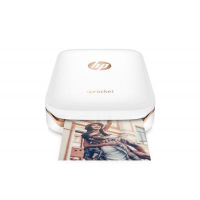 Hp fotoprinter: Sprocket Photo Printer - Wit