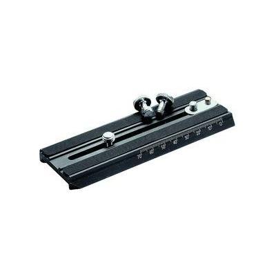 Manfrotto 501PLONG, Long Video Camera Plate Statief accessoire - Zwart