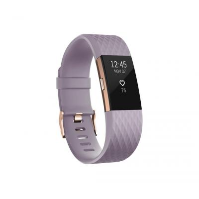 Fitbit wearable: Charge 2 - Goud, Roze