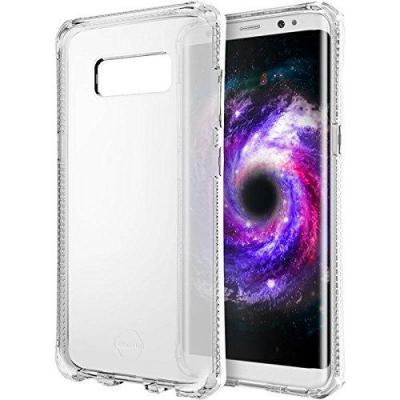 Itskins mobile phone case: Transparent Semi-Rigid Case for Samsung Galaxy S8 - Transparant
