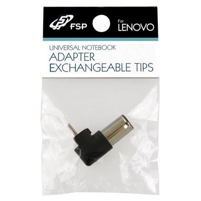 FSP/Fortron NB Tip adapter for Lenovo Kabel adapter - Zwart