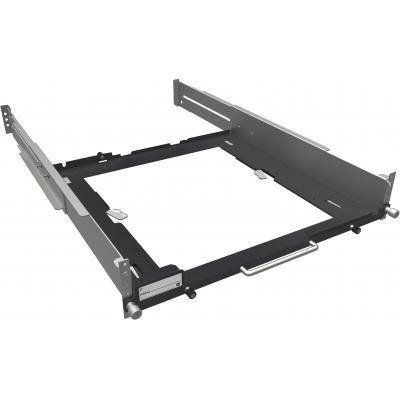 Hewlett packard enterprise rack toebehoren: HP Z2/Z4 in diepte verstelbare vaste railrack-kit - Zwart