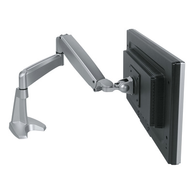 Dataflex monitorarm: Viewmaster monitorarm - bureau 152 - Zilver