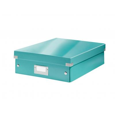 Leitz archiefdoos: Click & Store middelgrote opbergdoos - Blauw