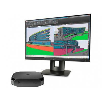 Hp pc: WORKSTATION BUNDEL (1CC42ET+K7B99AT) Z2 mini Intel i7-6700 + Z24n monitor - Zwart