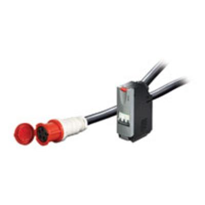 APC IT Power Distribution Module 3 Pole 5 Wire 63A IEC309 740cm Energiedistributie - Zwart
