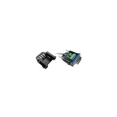 Intronics electrische connectordop: D-Sub slim kap voor schroefbare D-Sub connectors
