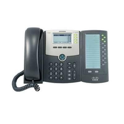 Cisco IP telefoon: SPA 500 Series IP Phones - Zwart