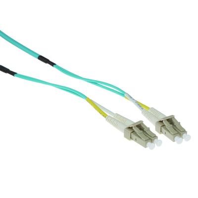ACT 10mmultimode 50/125 OM3 duplex ruggedized fiber kabelmet LC connectoren Fiber optic kabel - Blauw,Grijs,Wit,Geel