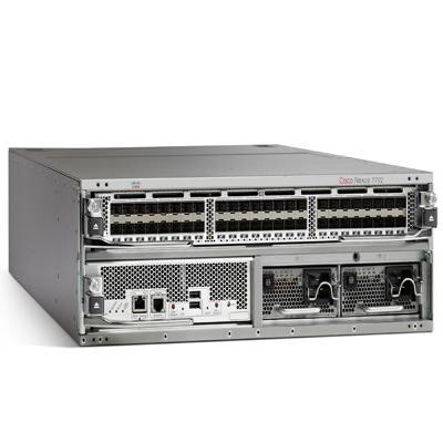 Cisco netwerkchassis: Nexus 7700 Switches 2-Slot Chassis, including fan tray, no power supply - Grijs