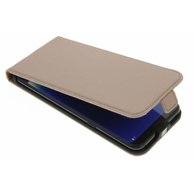 Luxe Hardcase Flipcase Samsung Galaxy S8 Plus - Goud / Gold Mobile phone case