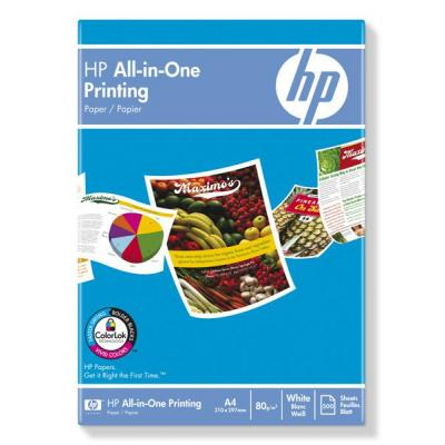Hp papier: All-in-One Printing Paper-500 sht/A4/210 x 297 mm
