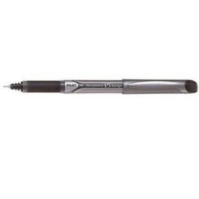 Pilot pen: V5 Grip - Zwart