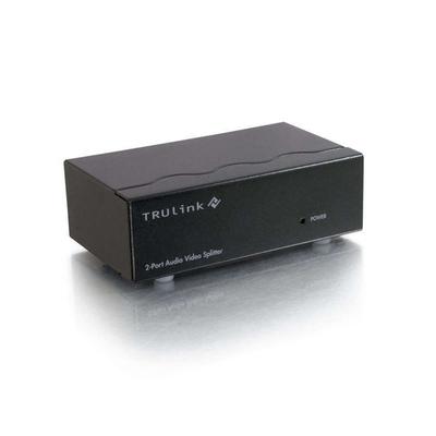 C2G 89025 Video splitter - Zwart