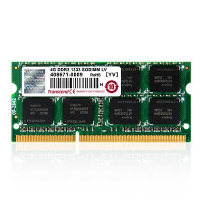 Transcend DDR3 1600 SO-DIMM 8GB RAM-geheugen