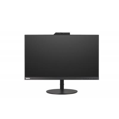 """Lenovo ThinkVision T24v 23,8"""" Full HD IPS (ingebouwde webcam) Monitor - Zwart"""
