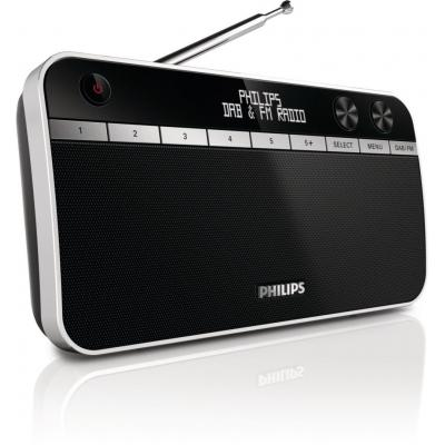 Philips radio: Draagbare radio AE5250/12 - Zwart
