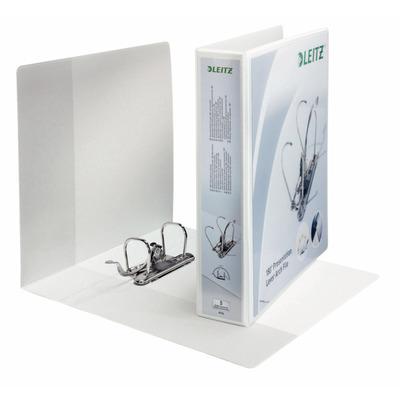 Leitz ringband: Plastic Panorama ordner 180° - Wit