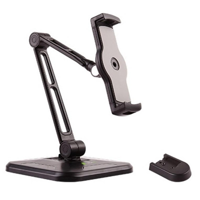 """Techly Desk and Wall Extensible Support for Tablet and iPad 4.7""""-12.9"""" Houder - Zwart"""