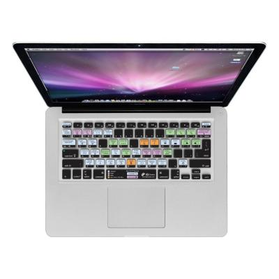 Kb covers toetsenbord accessoire: OS X Shortcuts Keyboard Cover for MacBook - Multi kleuren, QWERTY
