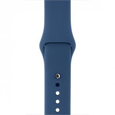 Apple : F/ Watch 42mm, Oceaanblauw, S/M&M/L