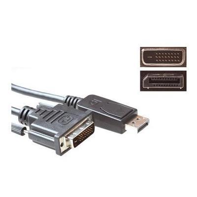 Eminent 1.8m, DisplayPort/DVI -D - Zwart