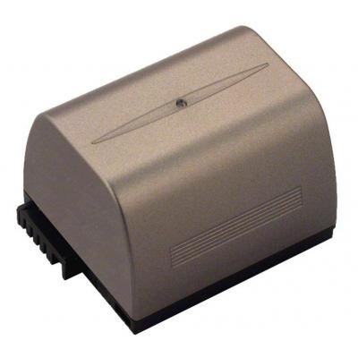 2-power batterij: Camcorder battery, Li-ion, brown - Bruin