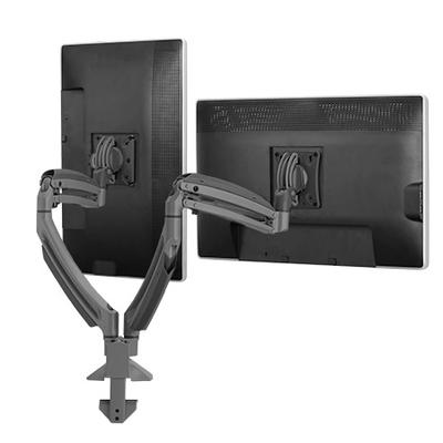 Chief Kontour K2D dynamische bureauklemsteun, 2 monitors Monitorarm - Zwart