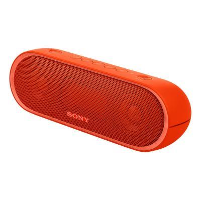 Sony draagbare luidspreker: 20-20000Hz, Bluetooth 4.2, NFC, micro USB, 590g - Rood