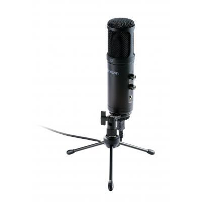 NACON USB, 16bit/48kHz, 1.8m Microfoon - Zwart